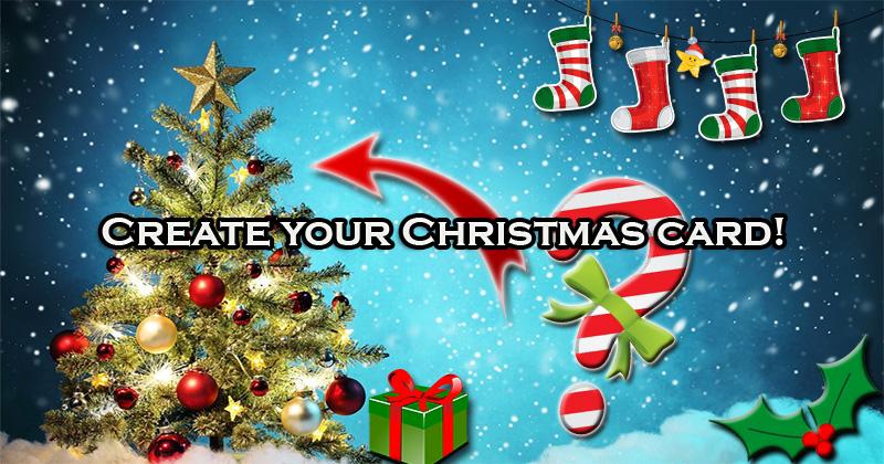 Create your Christmas card!