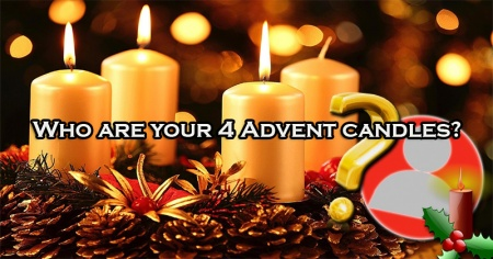 Who are your 4 Advent candles?