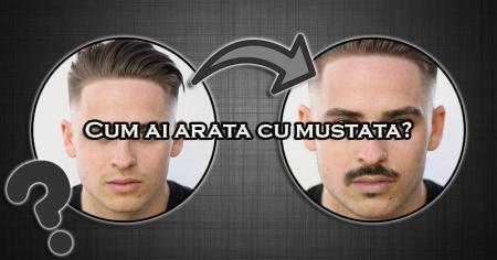 Cum ai arata cu mustata?