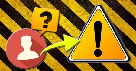 Mit mond rólad a biztonsági figyelmeztető címkéd?