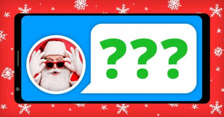 Find out what Santa answered you on FB!