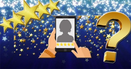 On how many stars is your profile rated?