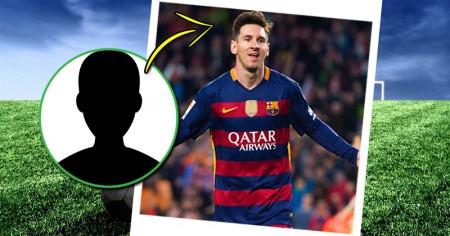 Vergleiche dich mit einem berühmten Fussballspieler!