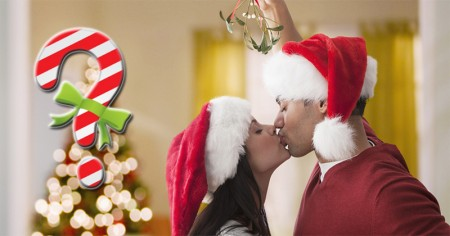 Who will kiss you under the Mistletoe?