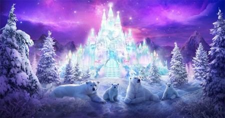 Como é o seu paraíso de inverno?