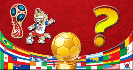 Support a country for the 2018 World Cup!