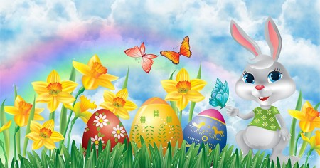 Wish your friends a happy Easter!
