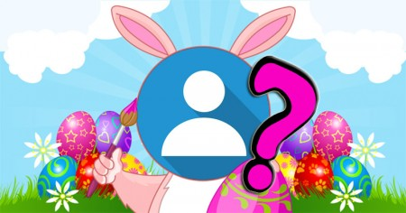 You as a cute Easter bunny!
