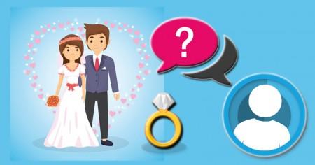 Descubra com quem você vai se casar!